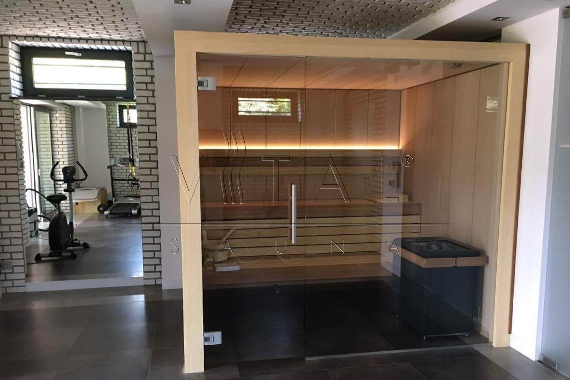 Vital-Sauna, Sauna fińska Cubo